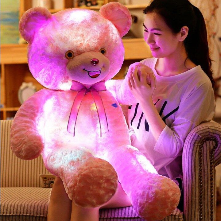 60cm Pink Life Size Doll Plush Large Teddy Bear For Sale Giant Big Soft Toys Teddy Bears Valentines/Christmas Birthday Day Gift