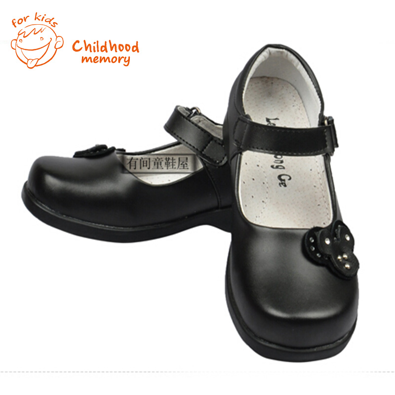 Black Classic Baby Dress Shoes Spring Autumn New