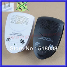 A25 Free Shipping 2pcs/lot Electronic Ultrasonic Anti Mosquito Insect Pest Mouse Magnetic Repeller US Plug(China (Mainland))