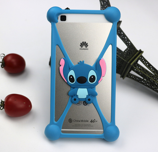 Hot Sale Cartoon Stitch kitty Universal Phone Frame Bumper For iphone 5/6/6s/6plus For Fly FS504 Cirrus 2 Nano Other Phone Cases(China (Mainland))
