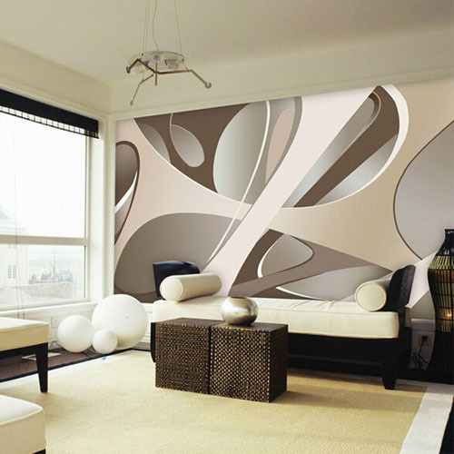 Europe large abstract wall mural photo murals wallpaper for Bedroom wall mural designs