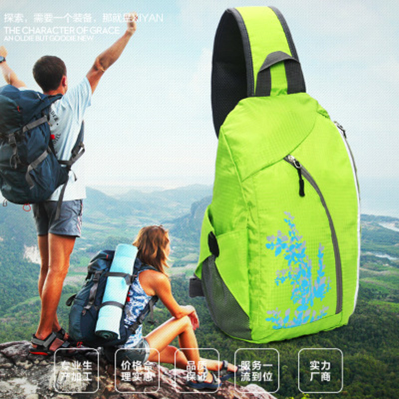 Shoulder chest backpack waterproof backpack chest pack sports and fitness<br><br>Aliexpress