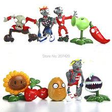 Buy 10pcs/set PVZ Plants vs Zombies Generation 1 PVC Action Figures Collection Model Toys Dolls for $10.44 in AliExpress store