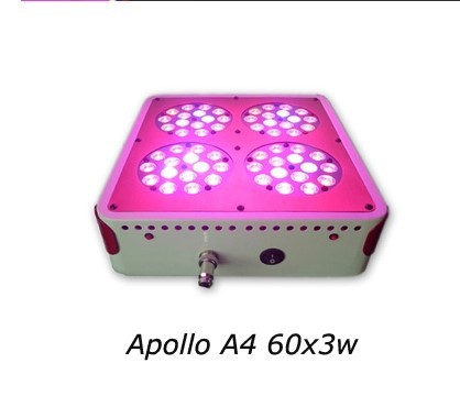 180W 60x3W Apollo LED Grow Light Lamp For Plants Hydroponics Grow LED Plant Cultivo Indoor(China (Mainland))