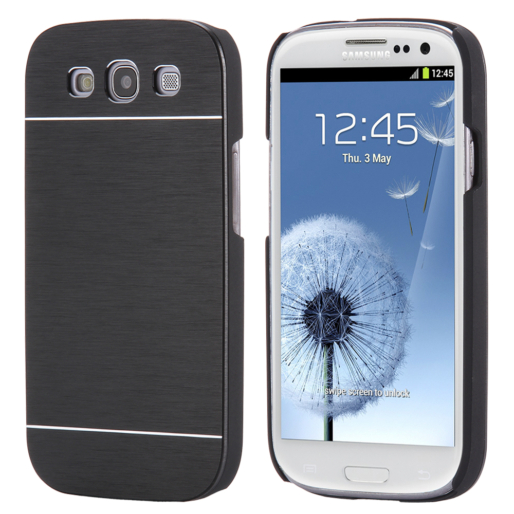 KISSCASE Brush Metal Case For Samsung Galaxy S3 Hard Aluminum Back Cover PC Plastic Frame Cases Protective Armor For Galaxy S3(China (Mainland))