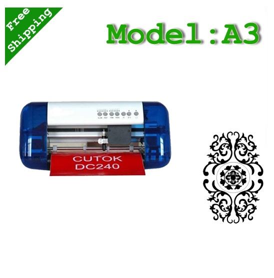 DC330 A3 cutting plotter for mesh flex pvc laser cutter(China (Mainland))