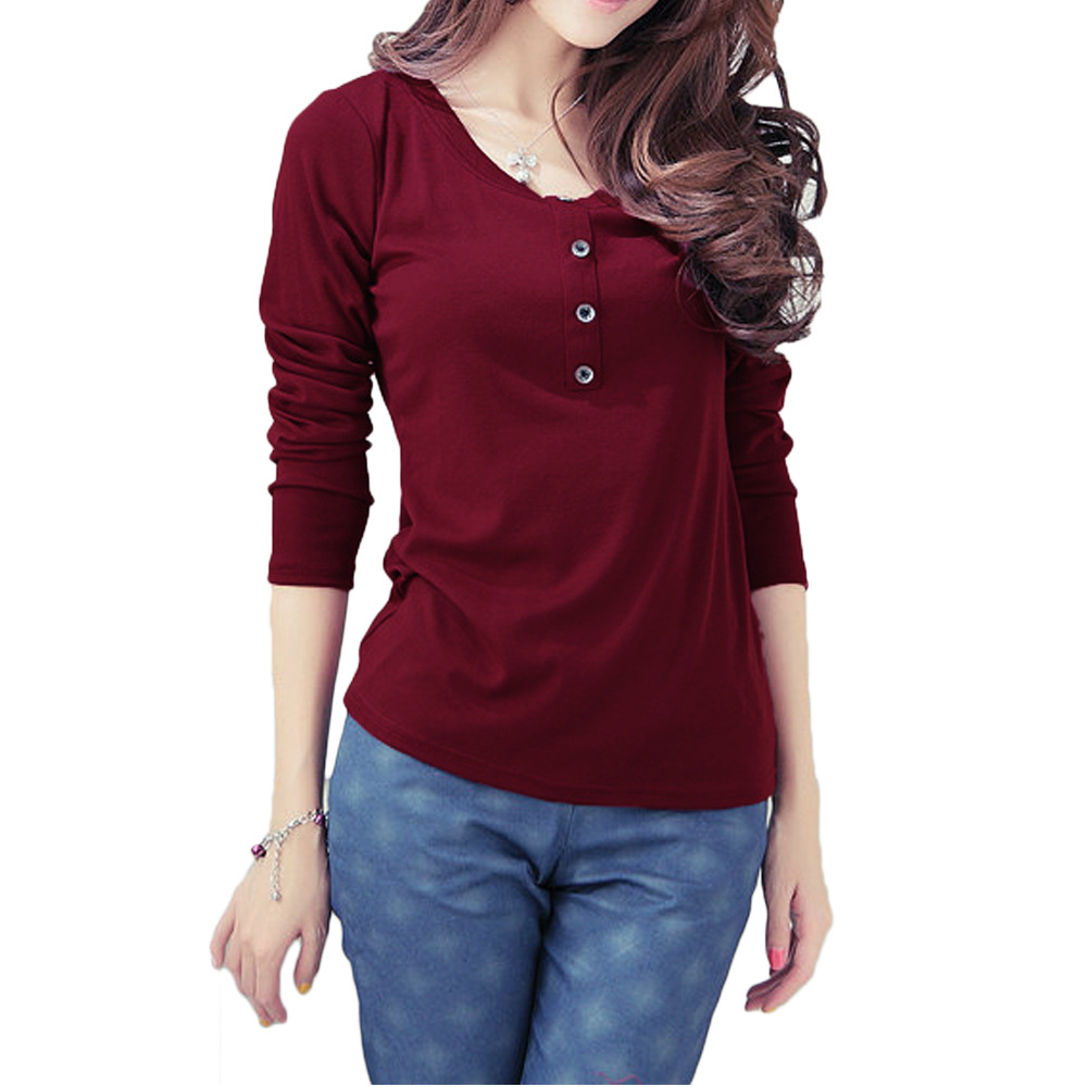 Burgundy Womens Top | Gommap Blog