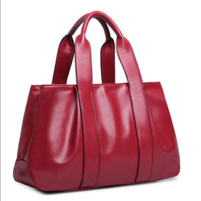 2015 Top Quality Large Women Leather Bag Elegant Patent Leather Tote Bags Vintage Luxury Designer Shoulder Bags sac a main L780(China (Mainland))
