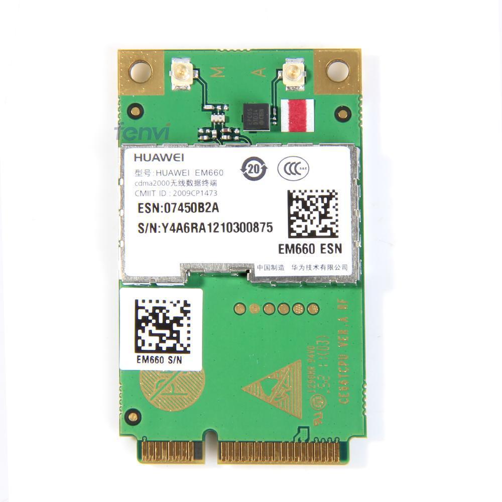 HuaWei EM660 3G WWAN Mini PCI-E Card CDMA EV-DO Module (10277)<br><br>Aliexpress