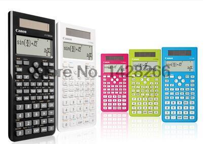 1 Pcs Canon F-718S calculator Student Science Function Calculator CANON computer exam examination authentic better than 991ES(China (Mainland))
