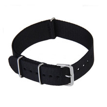 Fashion New 2015 Army Military Nato Nylon Watch 18mm Fabric Woven Watchbands Strap Band Buckle Belt Accessories
