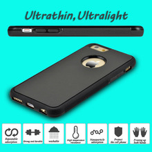 200pcs Novel Anti-gravity Phone Case For iPhone 6 6s Plus Magical Anti gravity Nano Suction Cover Adsorbed Car Antigravity Cases