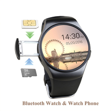 Buy KW18 Bluetooth Smart Watch Full Screen Support TF SIM Card Smartwatch Phone Heart Rate Health Tracker ios Android phone for $52.49 in AliExpress store