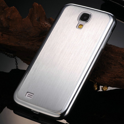 0.5MM Aluminum Brushed Hard case Samsung Galaxy S4 i9500 Thin Mesh Metal Back Cover 2 Styles Case - artisome Official Store store