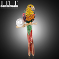 New Fashion enamel high qualit brooch pins Luxury alloy crystal jewelry animal brooches for women christmas