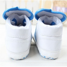 High Quality Boy's and Girl's Very Soft Sole Shoes Baby First Walkers Brand Shoes Fashion Sneaker Leather Shoes Baby Girl Shoes