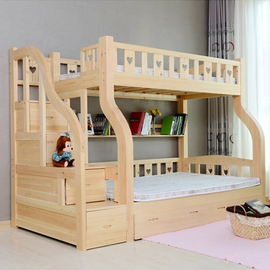 Children's furniture bunk bed bed picture bunk bed bunk bed mother and boy crib bedding(China (Mainland))