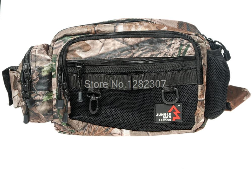 JUNGLE MAN TACTICAL OUTDOOR FISHING WAIST SHOULDER BAG POUCH REAL TREE CAMO-34239<br><br>Aliexpress