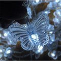 10M 50 led butterfly led string lights AC220V outdoor indoor Christmas Lights Holiday Party Wedding room