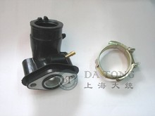 Intake Manifold For Carburetor interface Engine 139QMB 50cc GY6 4-Stroke Chinese Scooter Motorcycles ATV Moped part