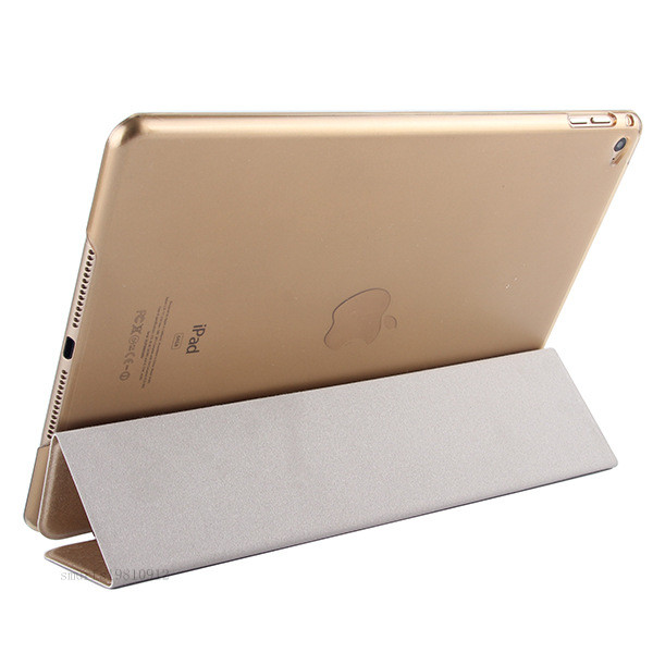 Luxury Ultra Slim Magnetic Smart Flip Stand PU Leather Cover Case For Apple iPad 6 Air 2 Retina Display Wake + Stylus Pen(China (Mainland))