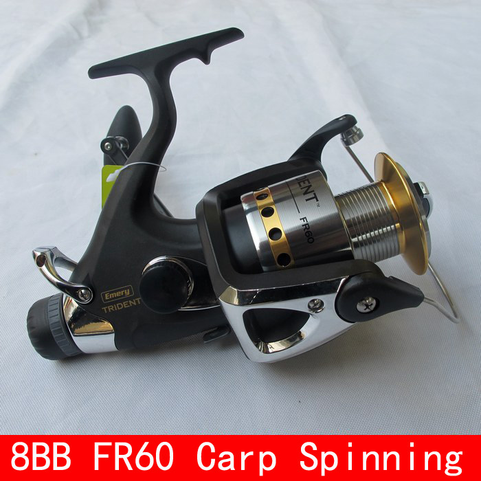 8BB 4.1:1  FR60 Carp Fishing Reel Front Drag Rear Drag Spinning Reel Bait Casting Reel Bait Runner Pesca Fishing Tackles <br><br>Aliexpress