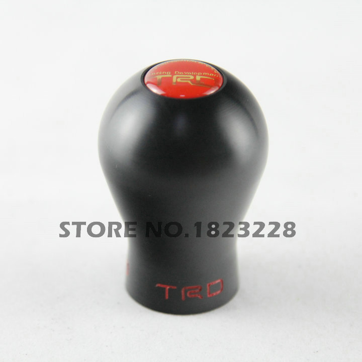New Style HQ MT Plastic Black Color Car Gear Shift Knob Shifter Lever For TOYOTA For TRD(China (Mainland))