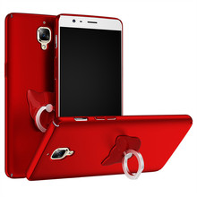 Cover coque one plus 3 cases,carcasa para Hard PC,custodia fundas oneplus movil funda,telefoon hoesje Finger ring - APD Store store