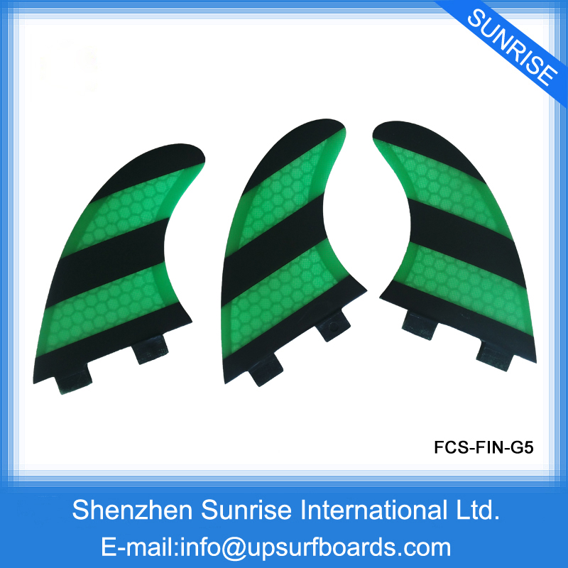 Free Shipping High Quality Honeycomb Fins Surf Fin FCS Fins G5 Fins(China (Mainland))