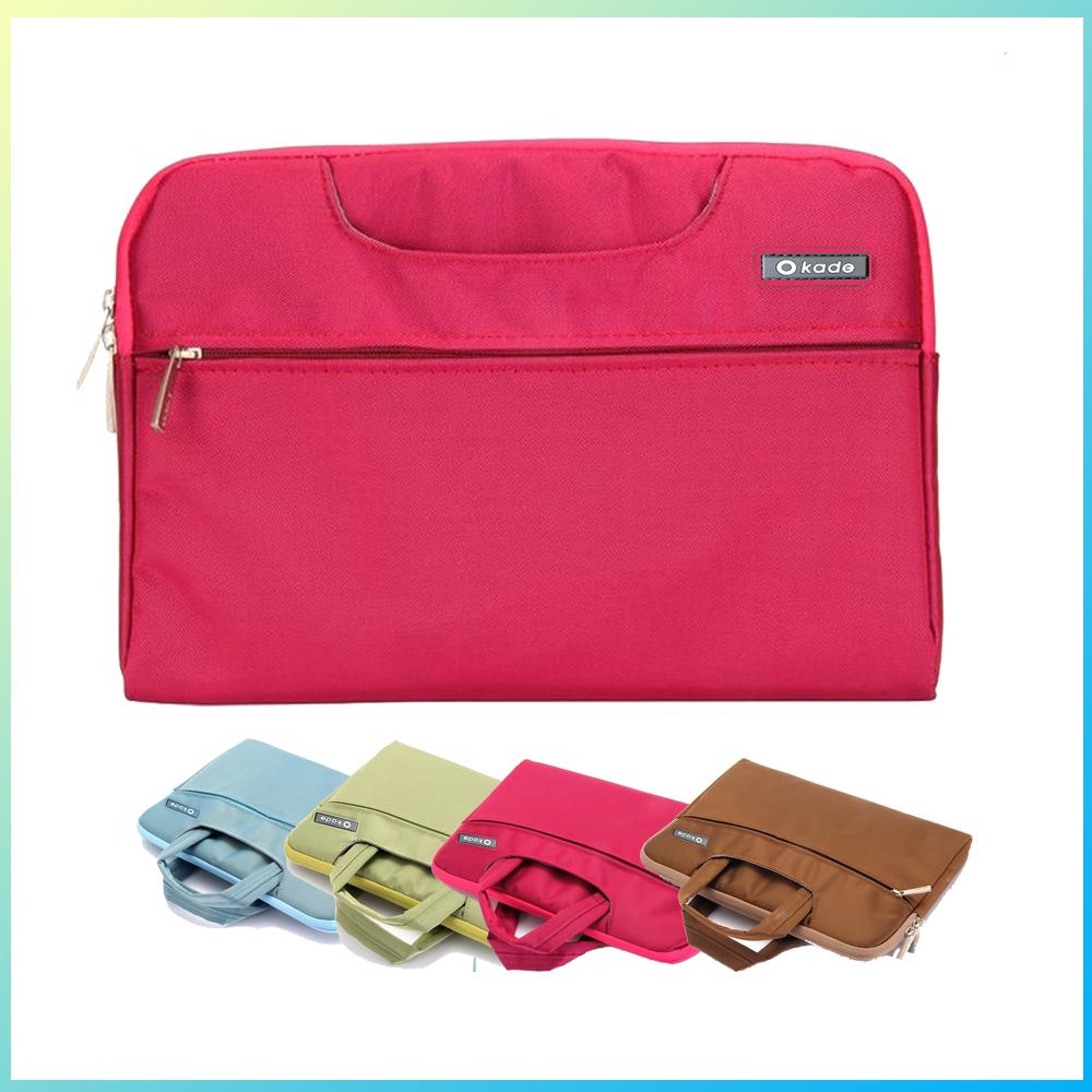 Hot Business Casual Fashion Style Unisex Laptop Handbags Macbook Air Pro Retina 11 12 13 15 inch Bag Sleeve Free
