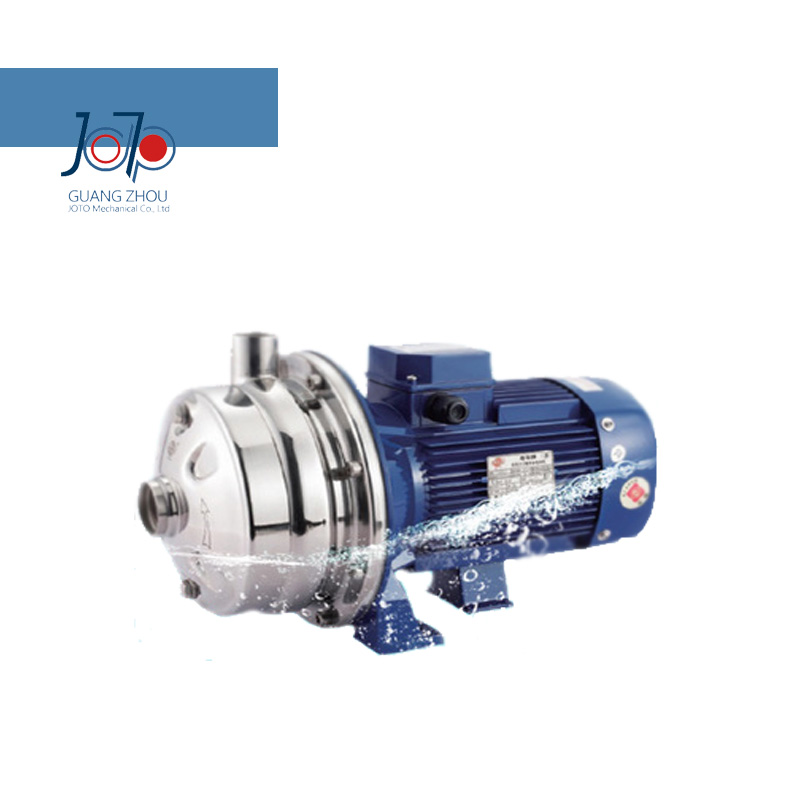 WB2-70/185D 220V 50Hz Single New Arrival Phase Low Pressure Stainless Steel Double Impeller Sanitary Centrifugal Pump Food Pump(China (Mainland))