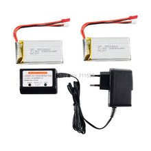 7.4V 1500Mah 25C Lipo Battery + Balance Charger Spare Parts For WLtoys V913 2.4G 4CH With Gyro RC Helicopter(China (Mainland))