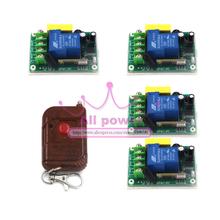Высокое качество новый цифровой беспроводной пульт дистанционного управления 220 В 30A 1 канал реле рф 315/433 MHZ 1 получатель 1 передатчик