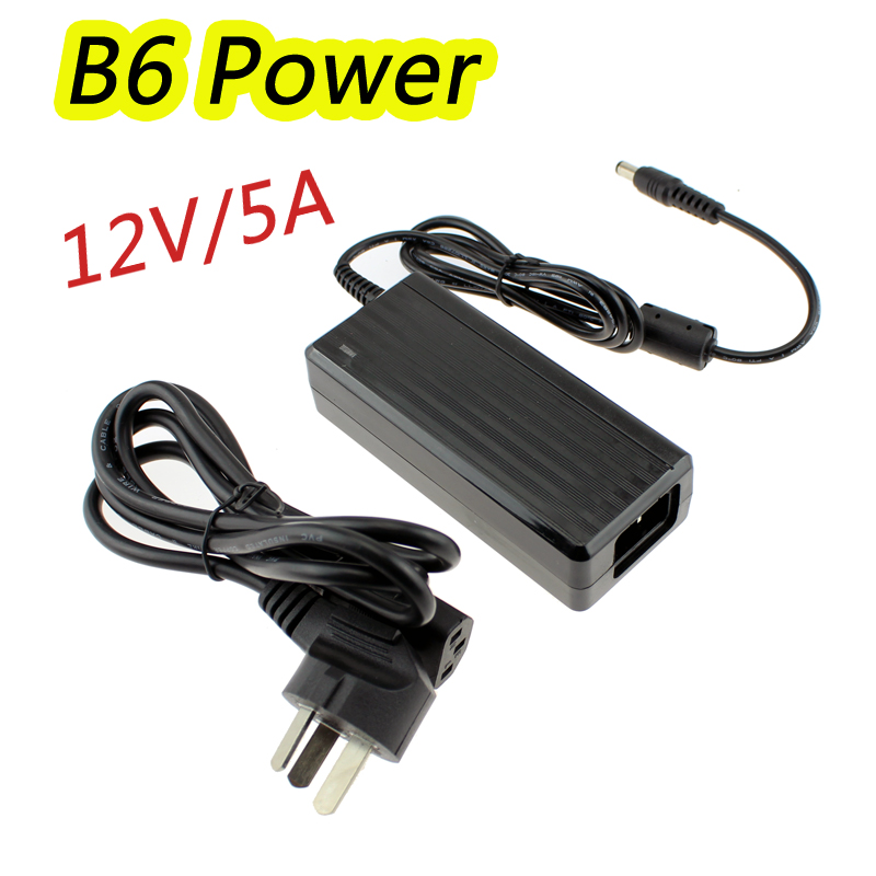 Newest Original Imax B6 Balancer Charger 12V 5A Power Adapter Supply Adaptor Good quality With Free Shipping(China (Mainland))
