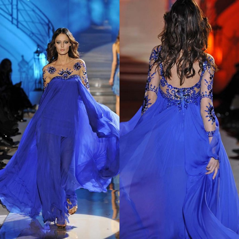 Вечернее платье  evening dress royal blue /Line вечернее платье erose evening dress 2015 vestido evening dress ade 232
