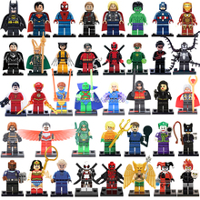 legoelieds Marvel Super Heroes The Avengers Minifigures Single Sale Penguin batman joker clown Building Blocks Model Bricks Toys(China (Mainland))