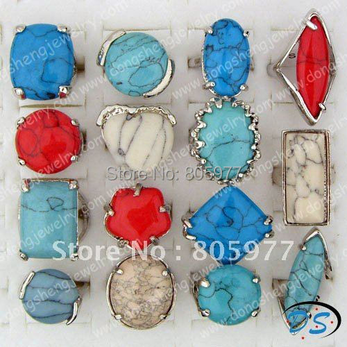 Free shipping!Wholesale Lots Large Flower Multicolor Resin Rings Fashion girls rings Fashion Rings