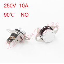KSD301 Bend Temperature Switch Thermostat 90C 250V/10A NO Normally Open(China (Mainland))