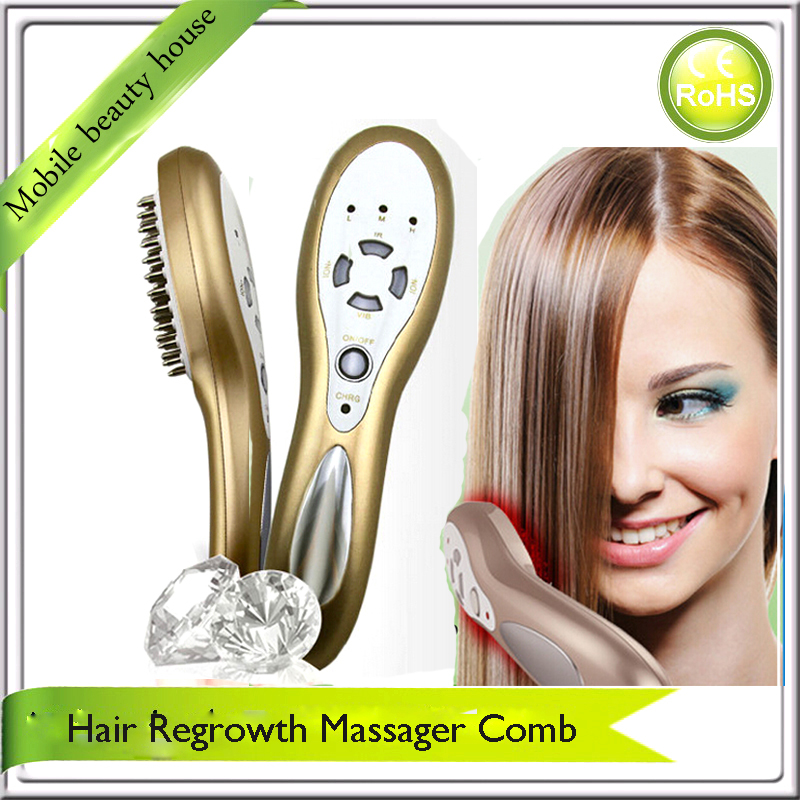 Фотография Rechargeable Electric Hair Growth Comb Massager For Hair Regrowth Treatment For Men Free Shipping