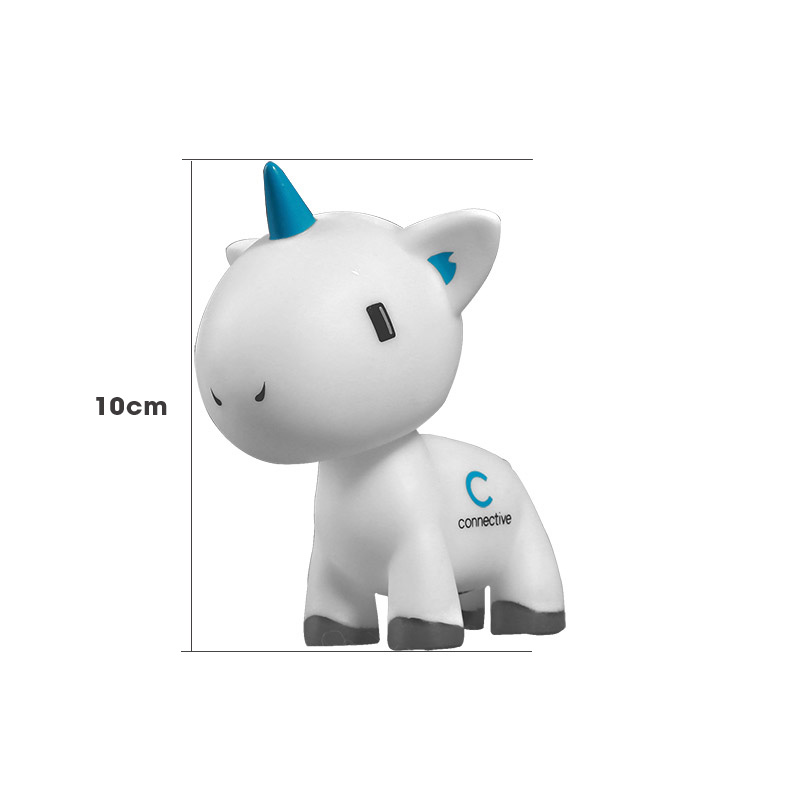 Unicorn Blank White Vinyl Figure Do It Yourself Soft Vinyl Figure Diy Paint Color For Kids Love Sheep Dolls One Piece Lovely Toy(China (Mainland))