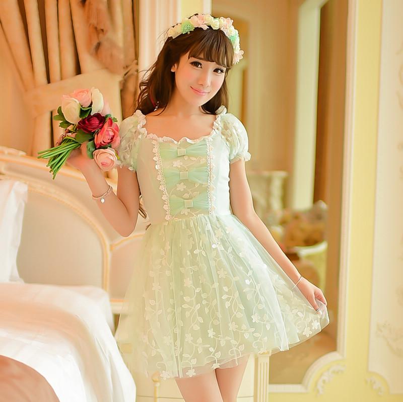 Princess sweet lolita dress candy rain new summer japanese style sweet princess pure and fresh - Prinses pure ...