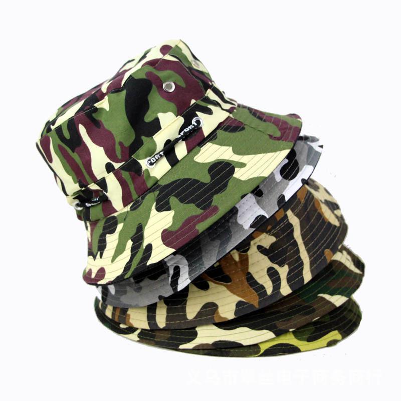 2015 New Unisex Fashion Print Fishing Caps Women's Bucket Hats men outdoor fishing cap pesca hat bob chapeau Summer Sun - DriMi store
