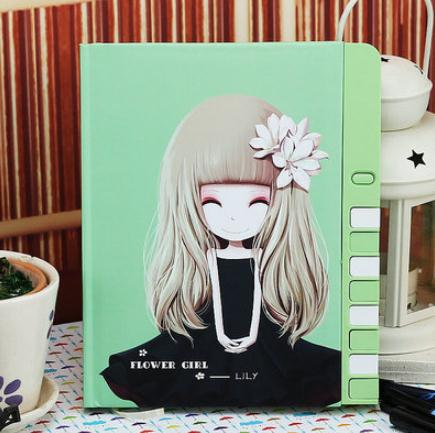 New hot 2015 Korea creative stationery interlocking cipher A5 notebook diary book notepad gift colorful pages free shipping(China (Mainland))