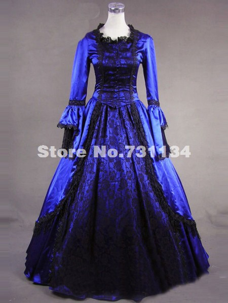 Popular 17th century costume aliexpress for 17th century wedding dresses