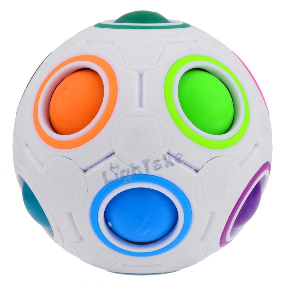Гаджет    2015 New Style YJ YJ0333 Colorful Ball Football Magic Speed Cube  None Игрушки и Хобби