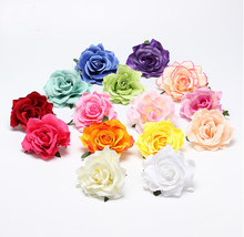 New Flocking Cloth Red Rose Flower Hair Clip Hairpin DIY Headdress Hair Accessories For Bridal Wedding 11colors Free Shipping(China (Mainland))