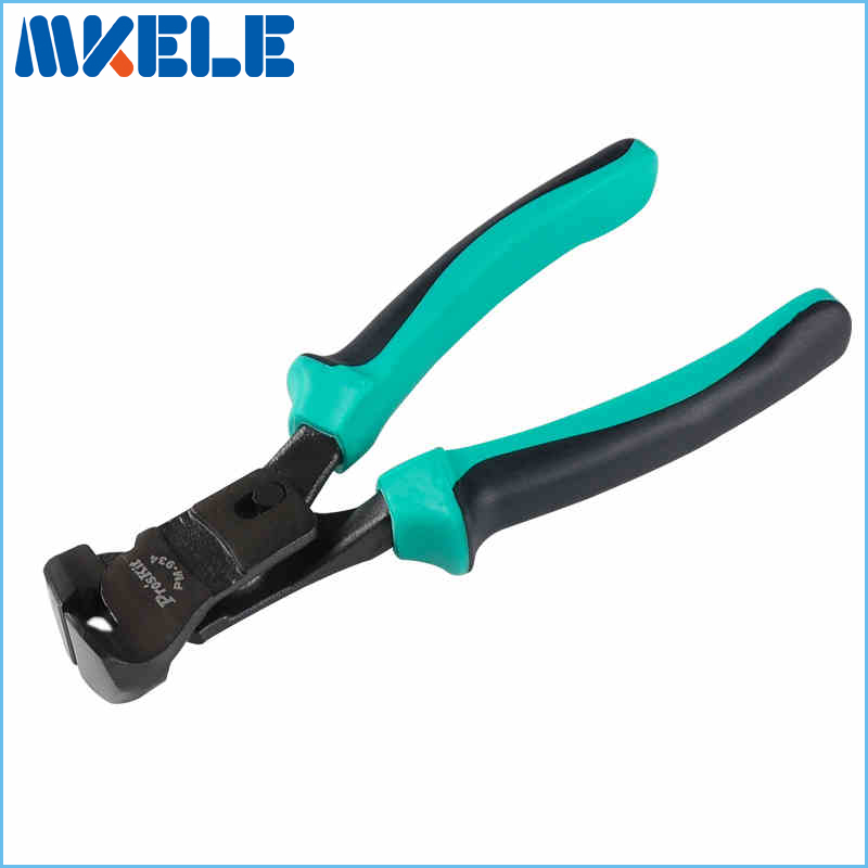 PM-934 7.5 inch double color and top cutting pliers pincer nail puller chrome vanadium steel naildrawers(China (Mainland))