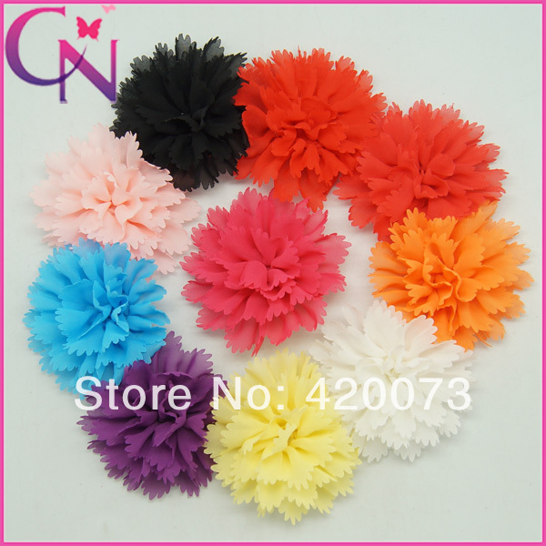 Free Shipping By Fedex 500 Pcs/lot 4.5 Shabby Chiffon Flower,Handmade Chiffon Flower With Clip,Chiffon Flower For HeadbandОдежда и ак�е��уары<br><br><br>Aliexpress
