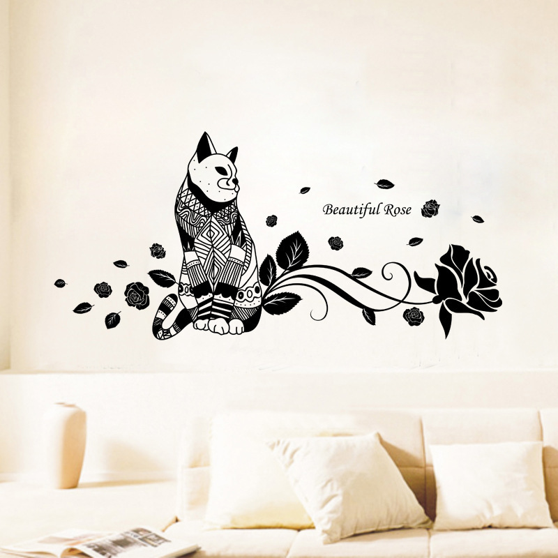 Compare prices on wallpaper women online shopping buy low for Stickers decorativos