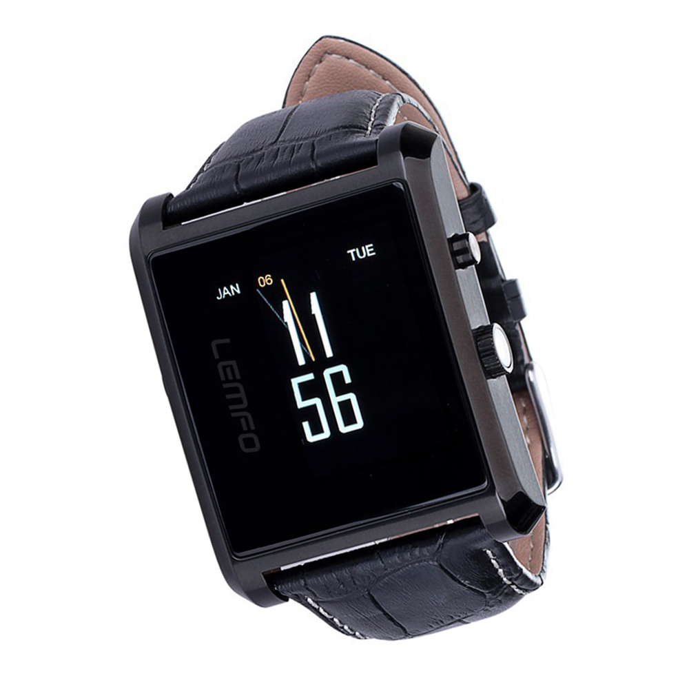 Bluetooth Smart Watch Male Sports Pedometer Sleep Monitor Smartwatch for Android IOS Retail Package